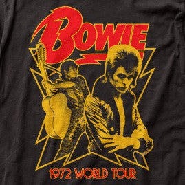 Bowie 1972 World Tour