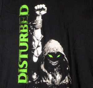 Disturbed Up Your Fist Neon Green