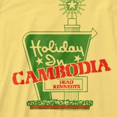 Dead Kennedys Holiday In Yellow