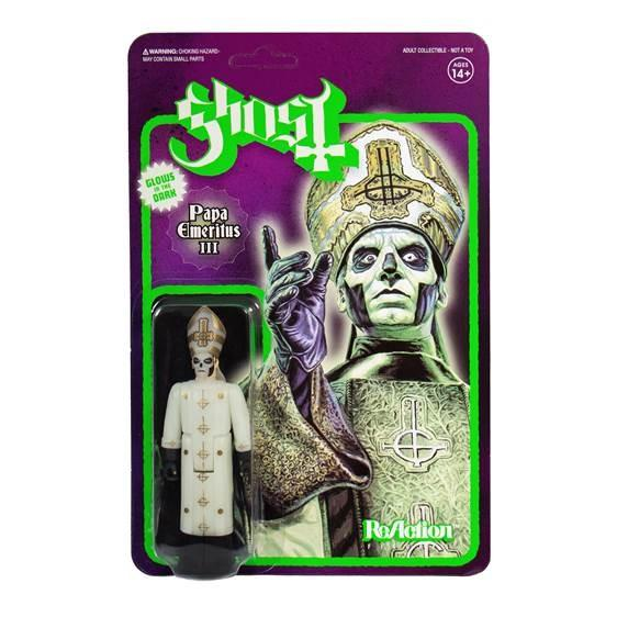 Ghost Papa III Glow ReAction Figure
