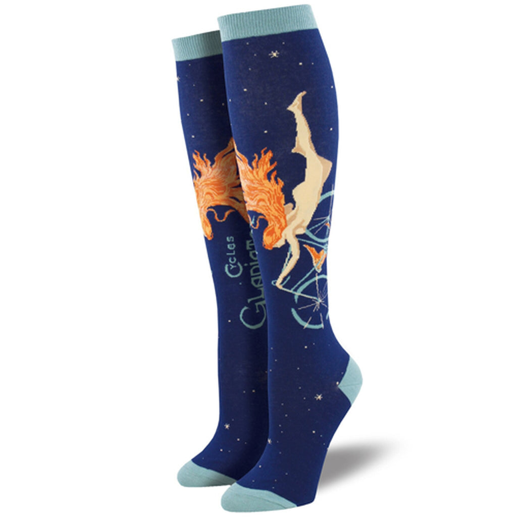 Cycles Gladiator Knee High Women's Socks