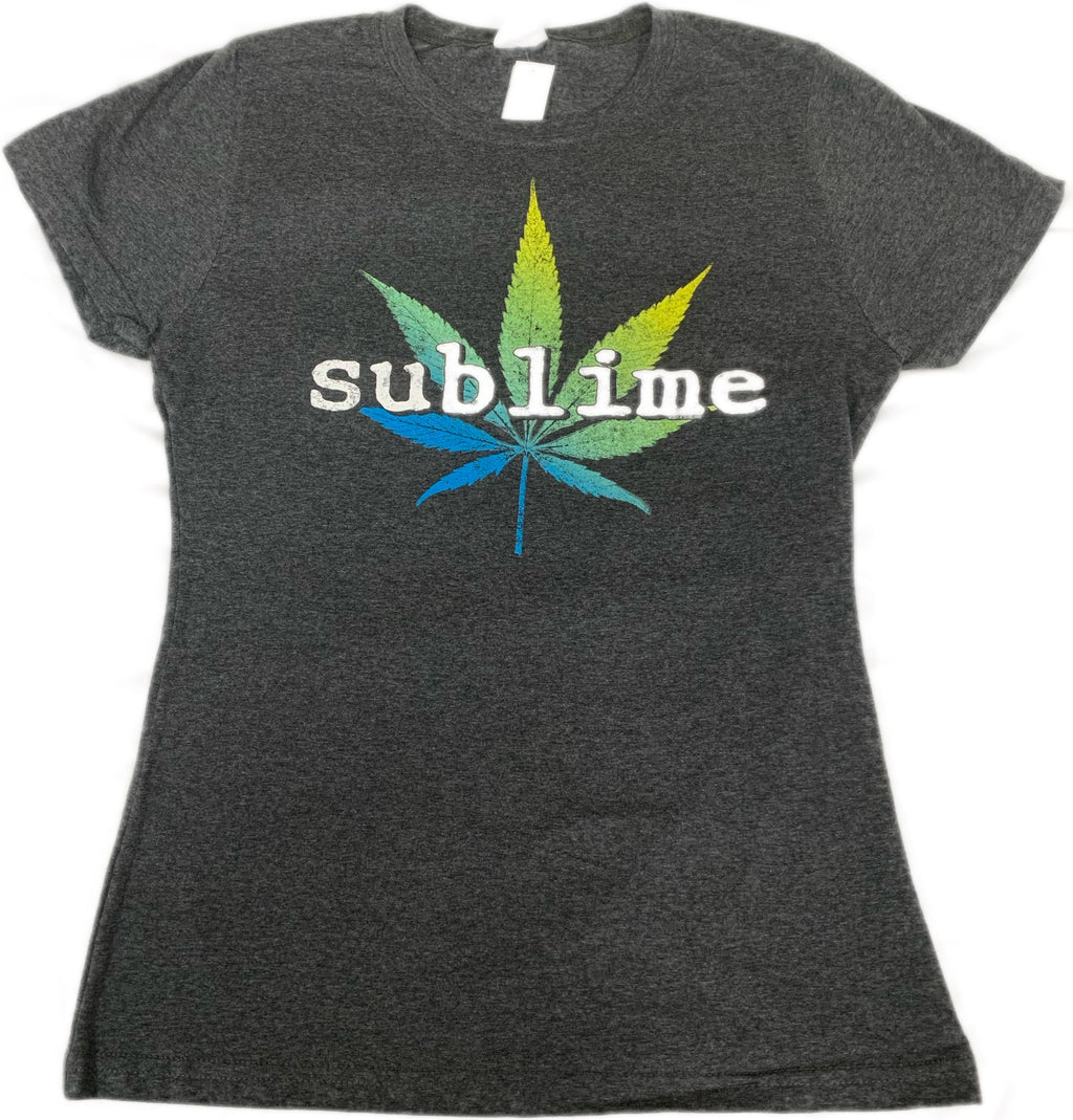 Sublime Pot Leaf Juniors Tee