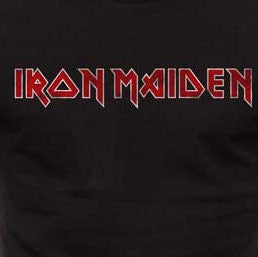 Iron Maiden Distressed Logo