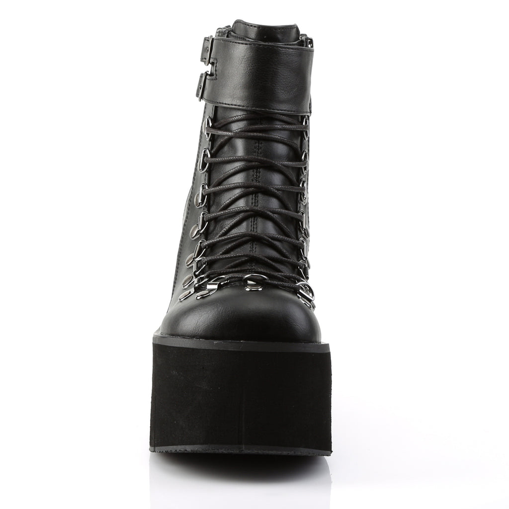 Kera-21 Black Vegan Lace Up