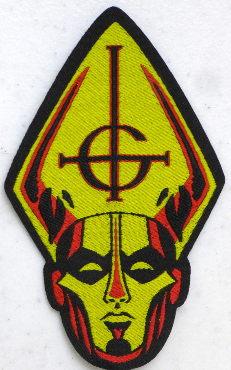 Ghost Papa Head Patch