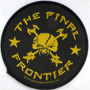 Iron Maiden Final Frontier Round Patch