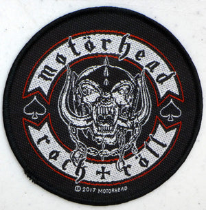 Motorhead Bike Badge Patch