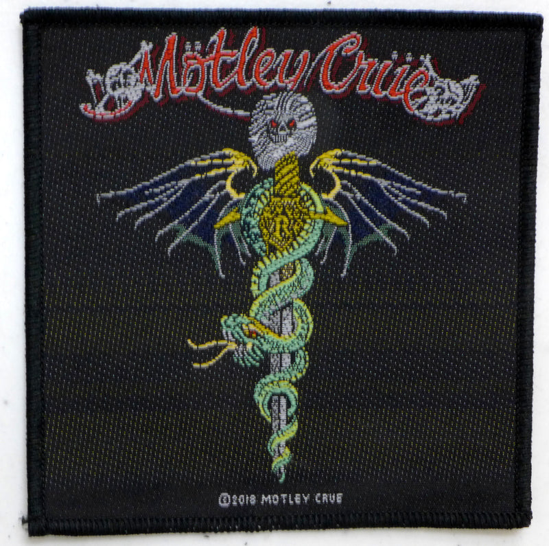 Motley Crue Dr. Feelgood Patch