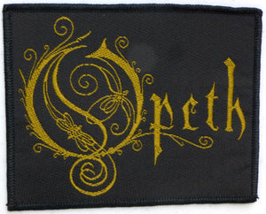 Opeth Logo Patch