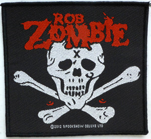 Rob Zombie Skull Patch