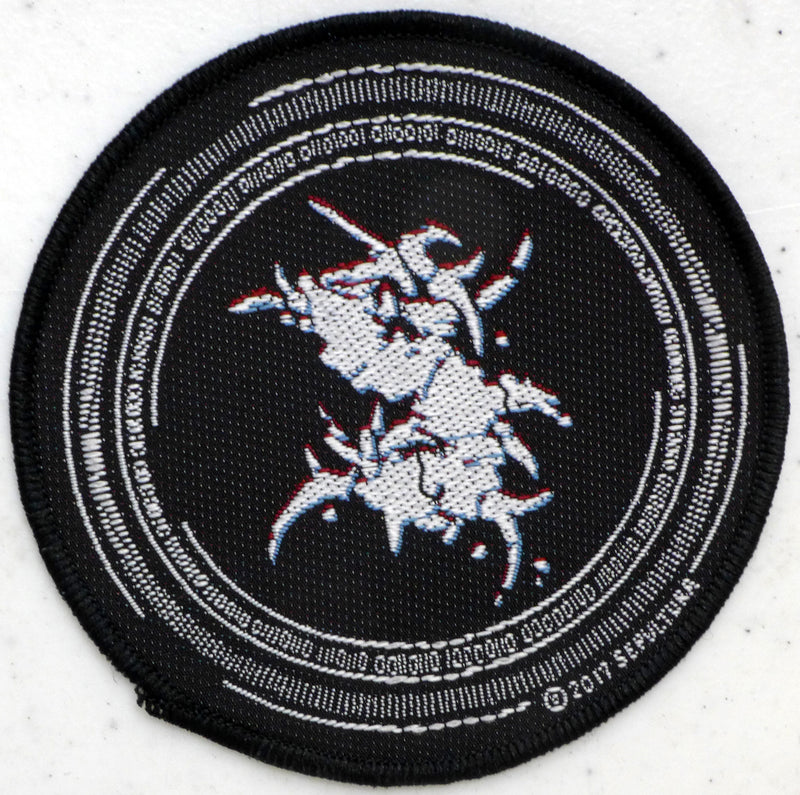 Sepultura Binary Circular Patch