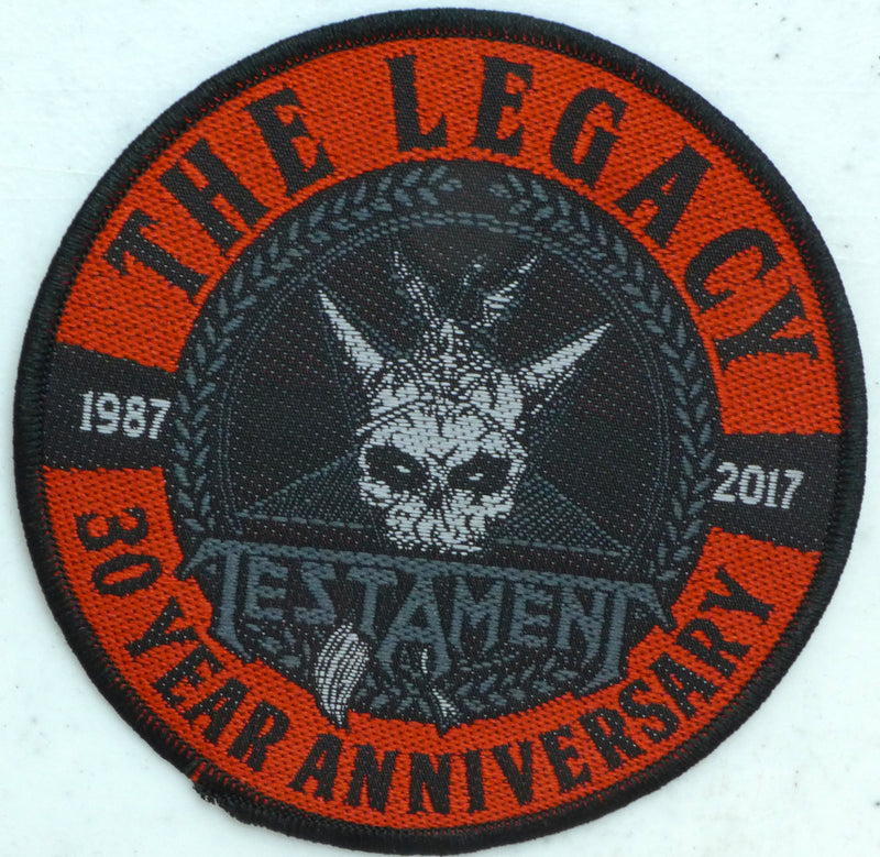 Testament Legacy 30 year Patch
