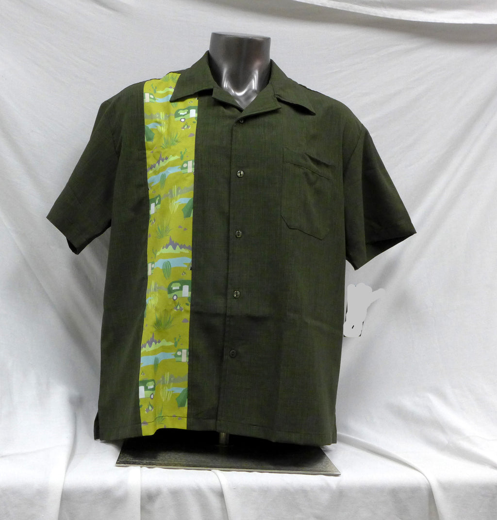 Trail Blazer Olive Button Up