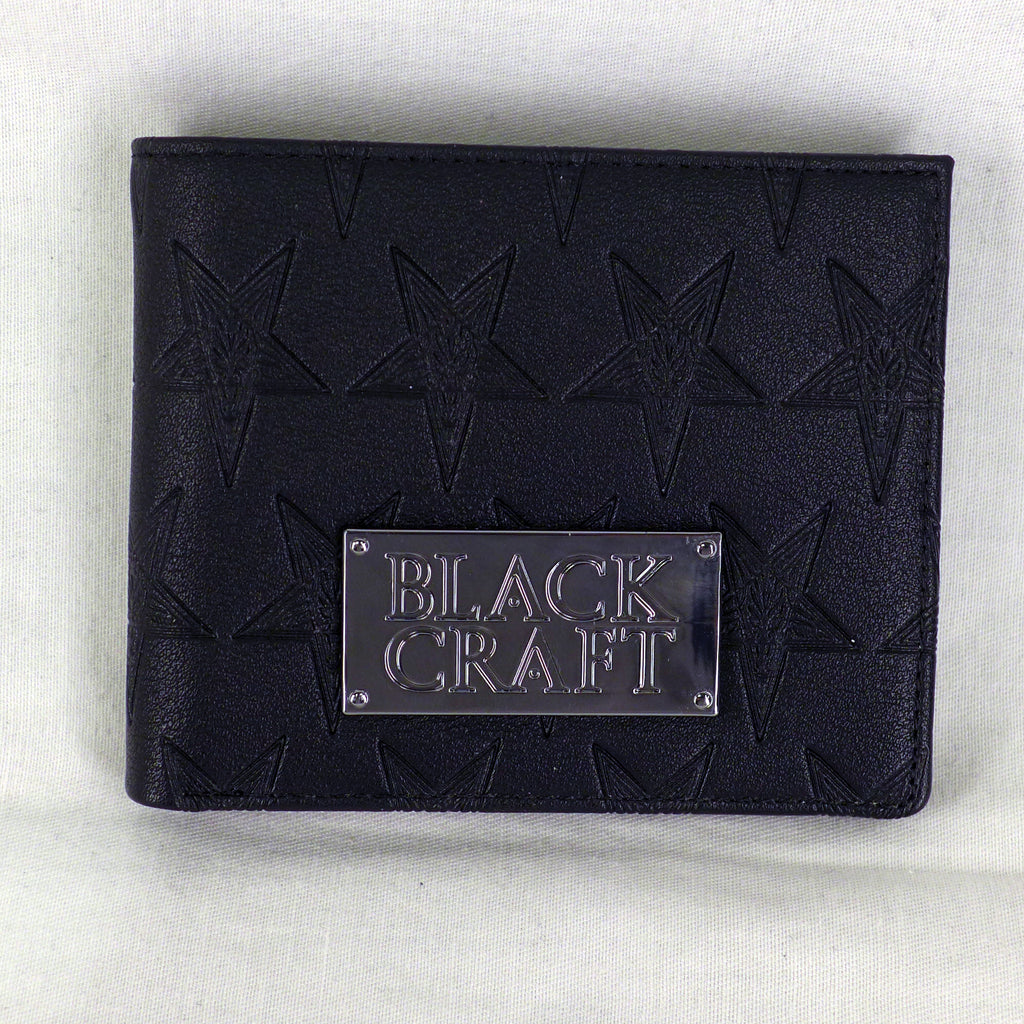 Baphomet Embossed Men's Wallet