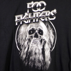 Foo Fighters Bearded Skull