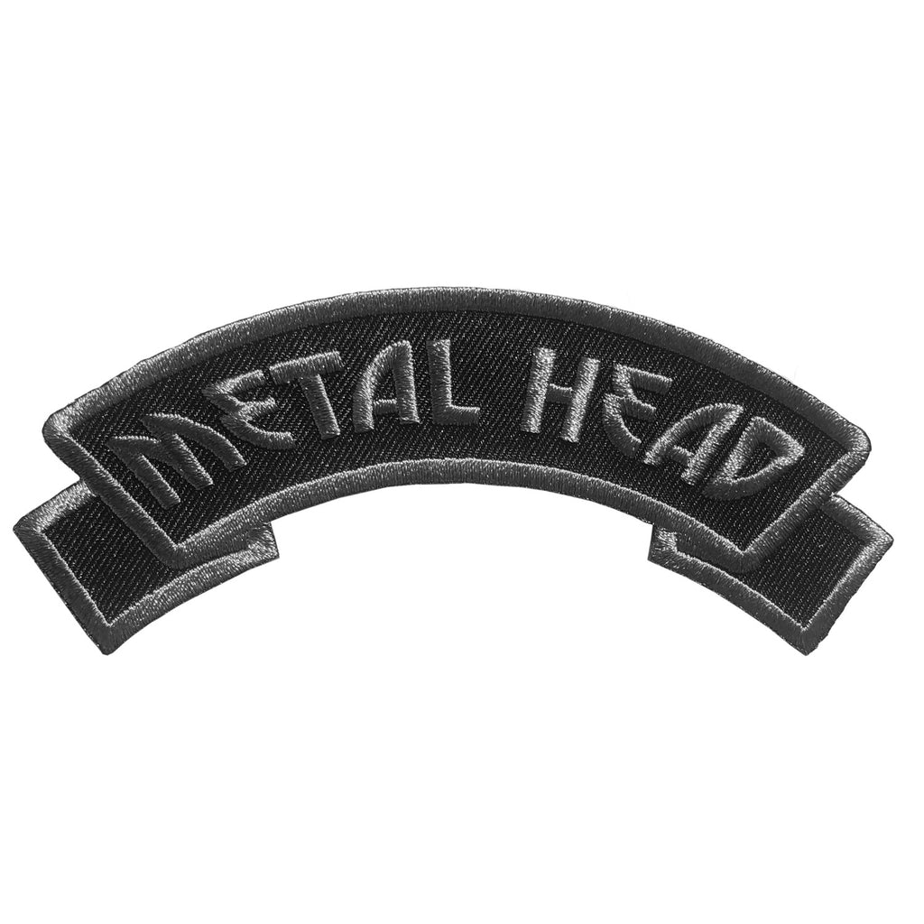 Arch-Metal Head Patch