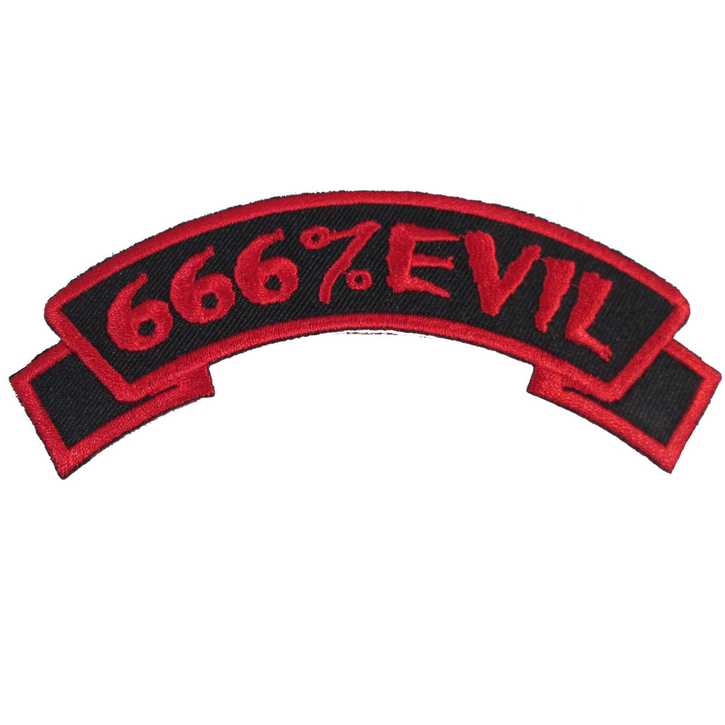 Arch-666% Evil Red Patch