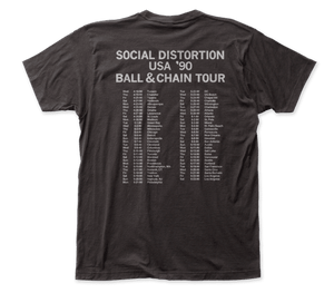Social Distortion Skelly Ball and Chain