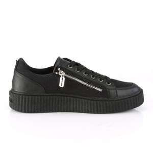 Sneeker-105 Low Top Zipper