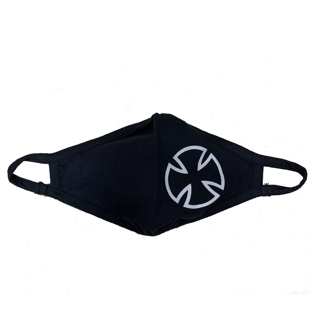 Iron Cross Logo Face Mask