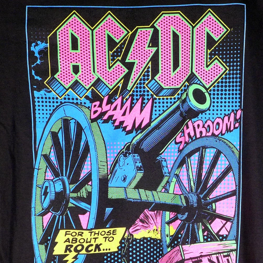 AC/DC TNT Blacklight