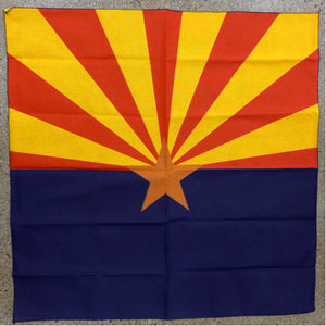 Arizona Flag Square Bandana