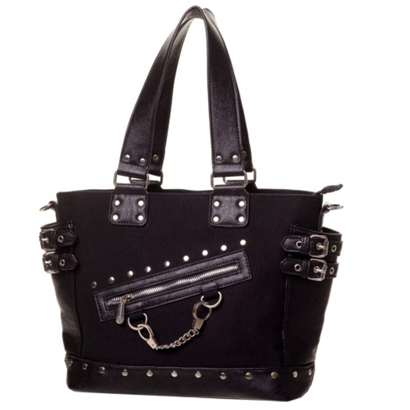 Handcuff Handbag-Black