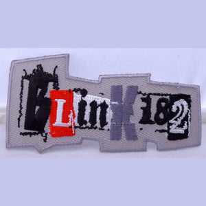 Blink 182 Gray Ransom Patch