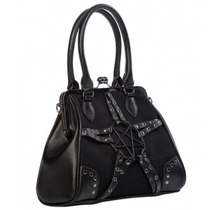 Restrict Handbag Pentagram Kisslock