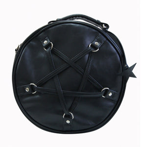 Time Travel Round Pentagram Bag