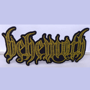 Behemoth Engraved Logo Patch