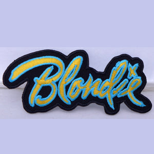 Blondie Logo Patch