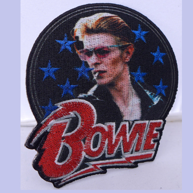 Bowie Stars Patch