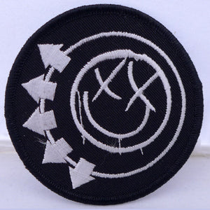 Blink 182 Circle Smiley Patch