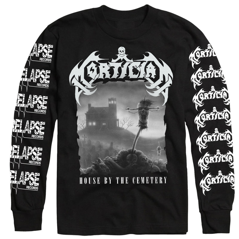 Mortician House By the Cemetary Long Sleeve