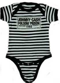 Cash Folsom Prison Striped 1Z