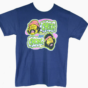 Cheech & Chong Transfer Navy T