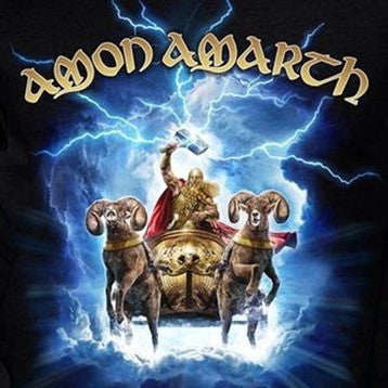 Amon Amarth Thor Crack the Sky