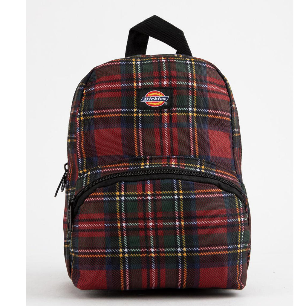 Dickies Mini Tartan Red Backpack