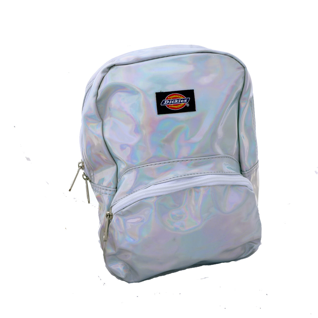 Dickies Mini Silver Iridescent Backpack
