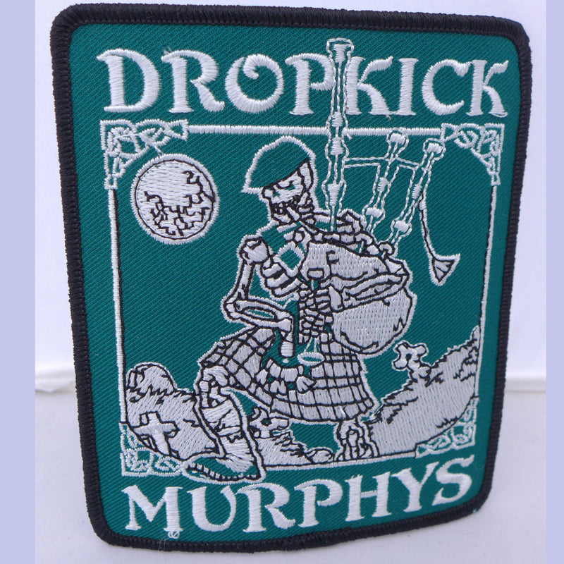 Dropkick Murphys Skeleton Piper Patch