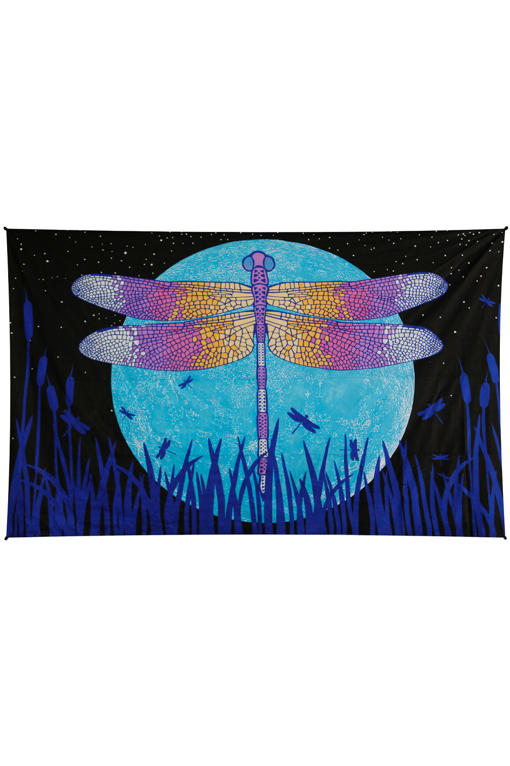 3D Glow Dragonfly Moon