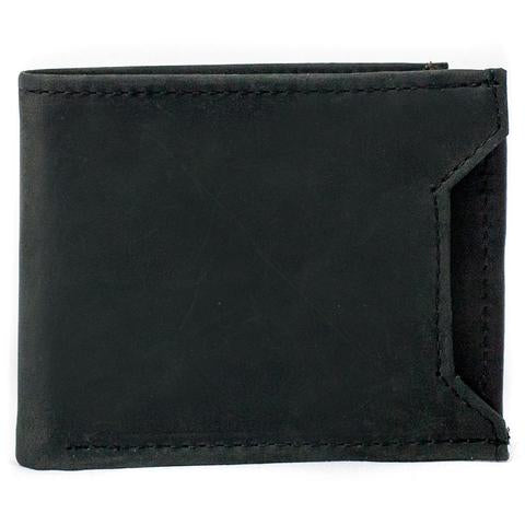 Black Front Slot Billfold