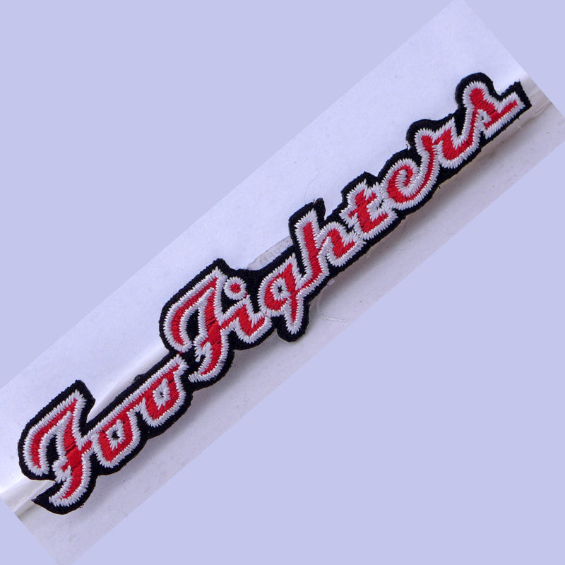 Foo Fighters Red/Wht Logo Patch