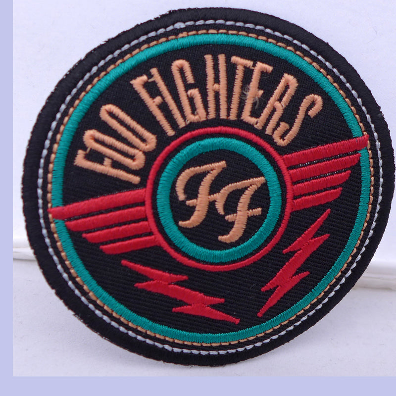 Foo Fighters Red Round Logo Patch
