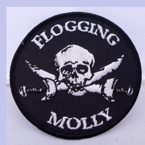 Flogging Molly Skull/Sword Patch