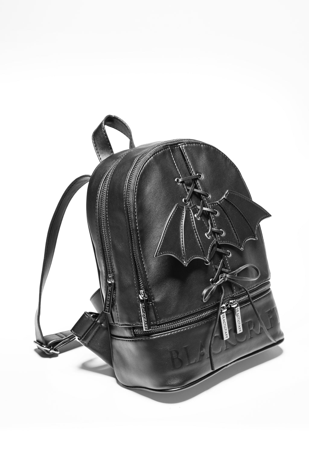 Bat Wing Lace Up Backpack