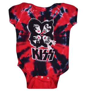 Kiss Burst Red Tie Dye 1Z