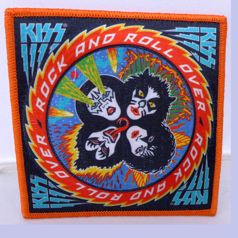 Kiss Rock n Roll Over Large Patch
