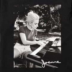 Lady Gaga Joanne Piano Photo